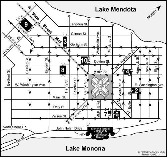 Map Of Downtown Madison Wi World Map 07